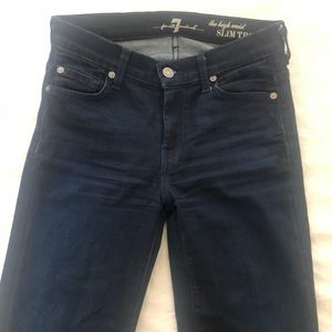 7 for all mankind denim size 25